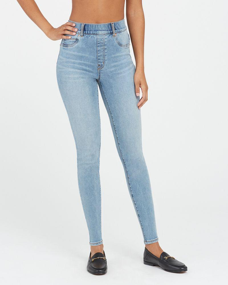 Ankle Skinny Jeans, Light Vintage Wash. Image via Spanx.