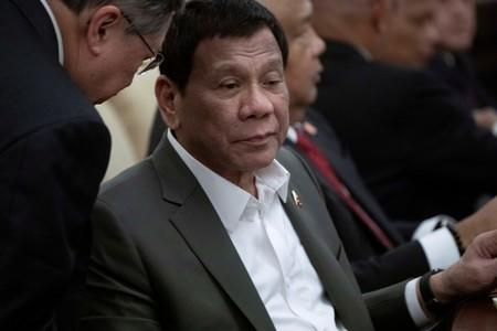 Philippine president 'in good hands' after minor motorcycle mishap