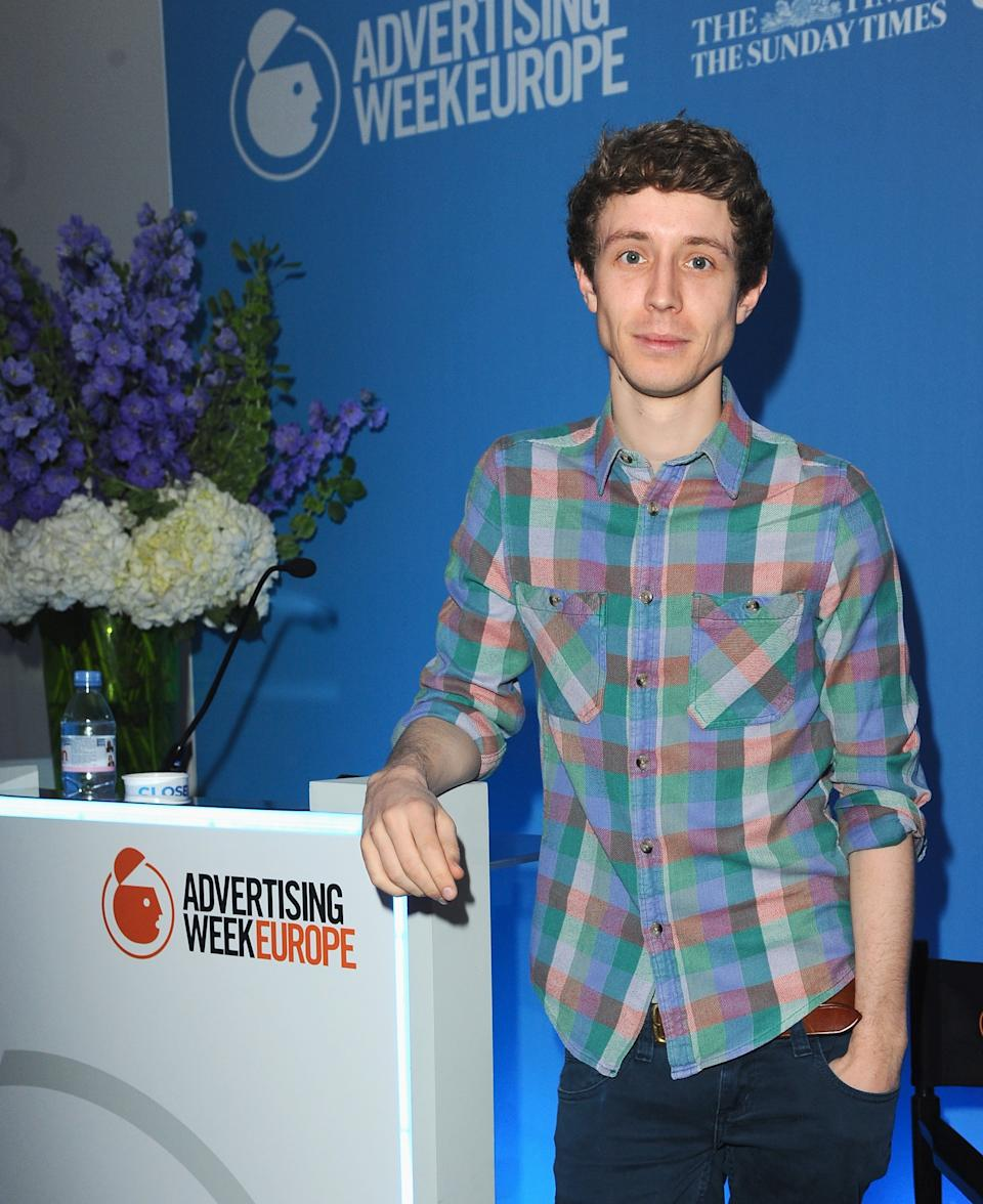 LONDON, ENGLAND - APRIL 03: Matt Edmondson, Radio 1 and ITV, Presenter attends the Game of Phones seminar in the News Room Studio B room during day four of Advertising Week Europe held at BAFTA 195 Piccadilly on April 3, 2014 in London, England. (Photo by Eamonn M. McCormack/Getty Images For Advertising Week)