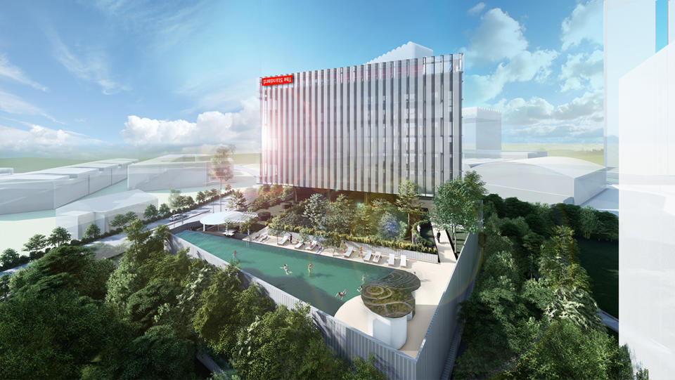 A rendering of The Standard, Singapore. (PHOTO: The Standard)