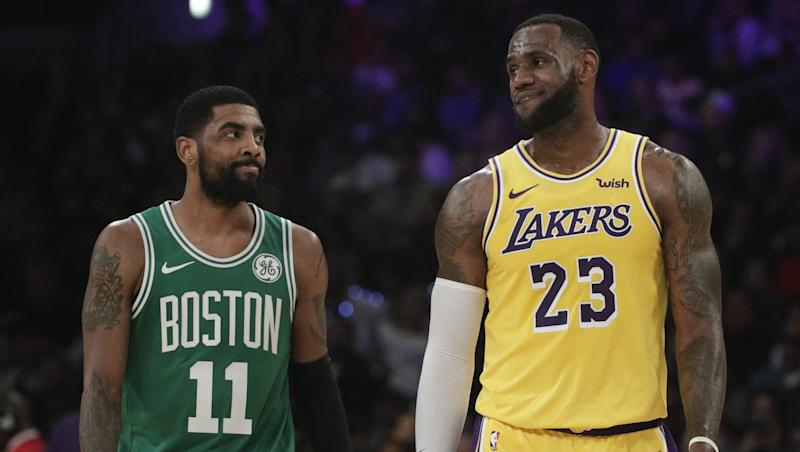 23c35b798 Rumor  Kyrie Irving to meet with Lakers in free agency