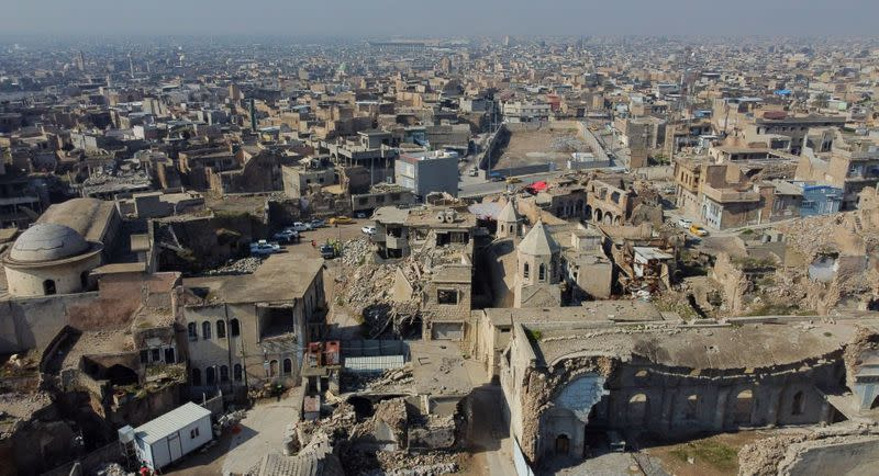 A view of Mosul's Old City