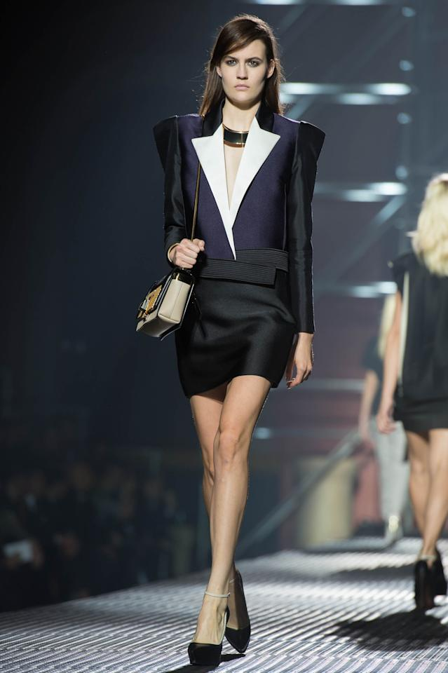 Défilé Lanvin  collection printemps/été 2013.