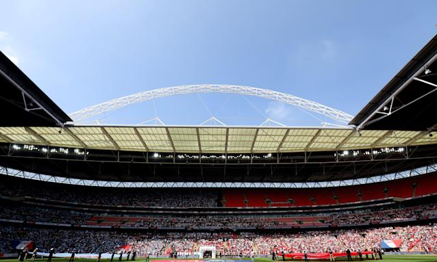 Shahid Khan, the Fulham and Jacksonville Jaguars owner, wants to buy Wembley stadium for £600m.