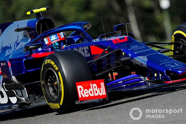 "Pierre Gasly, Toro Rosso STR14 <span class=""copyright"">Steven Tee / LAT Images</span>"