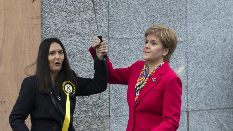 Sturgeon defends SNP handling of Margaret Ferrier's rule-breaking