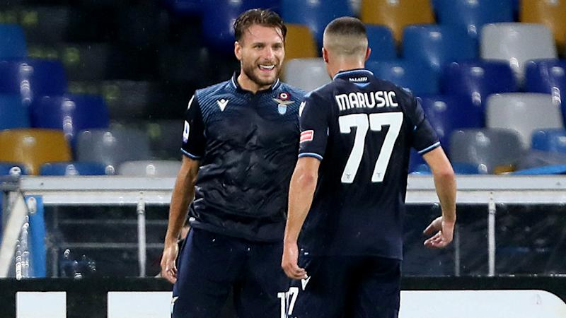 Immobile equals Higuain's Serie A goalscoring record and collects Golden Shoe prize