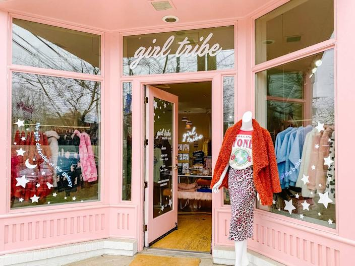 Girl Tribe Co. is working toward reopening but will keep sales online for now.