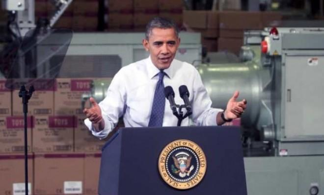 President Obama visits a Pennsylvania manufacturing plant to make his case for action on the fiscal cliff.