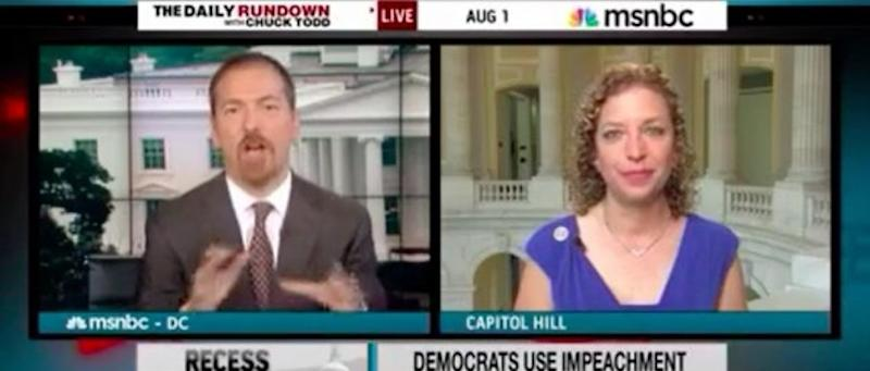 NBC Host To Top Democrat: 'Frankly, Only People Talking About Impeachment This Week Are Democrats'