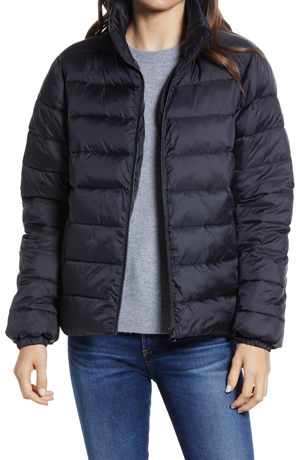 """<p><strong>NORDSTROM</strong></p><p>nordstrom.com</p><p><a href=""""https://go.redirectingat.com?id=74968X1596630&url=https%3A%2F%2Fwww.nordstrom.com%2Fs%2Fnordstrom-zip-puffer-coat%2F5859508&sref=https%3A%2F%2Fwww.marieclaire.com%2Ffashion%2Fg35090742%2Fnordstrom-half-yearly-sale-2020%2F"""" rel=""""nofollow noopener"""" target=""""_blank"""" data-ylk=""""slk:Shop Now"""" class=""""link rapid-noclick-resp"""">Shop Now</a></p>"""