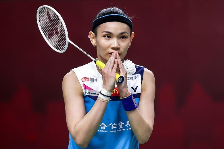Quick victory: Taiwan's world number one Tai Tzu-ying