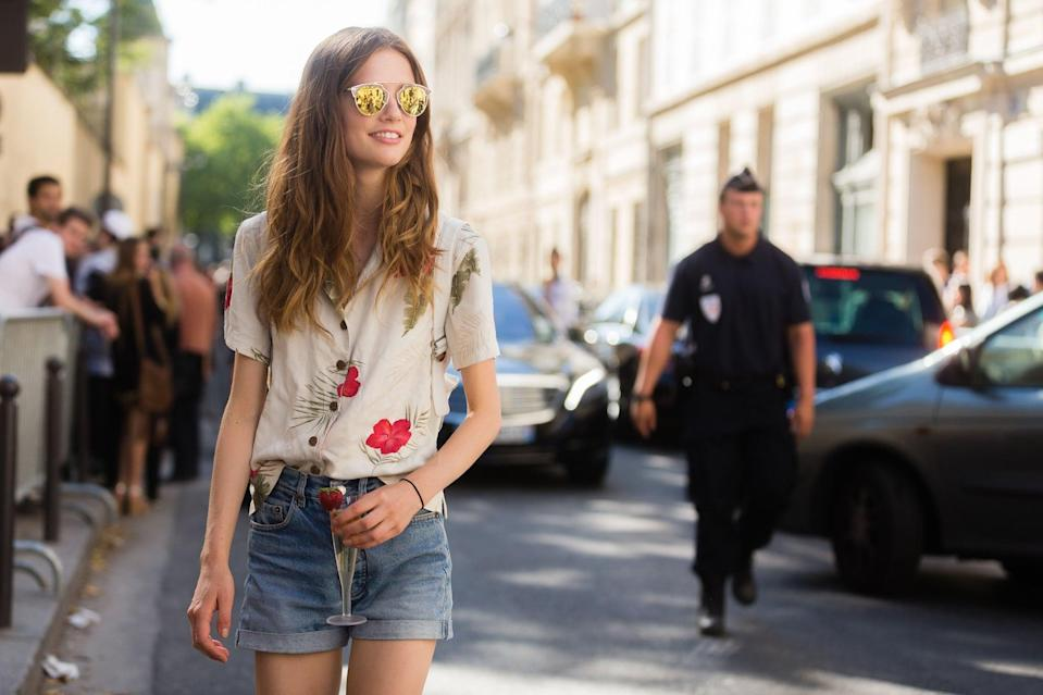 <p>When in doubt, go for your favorite cutoffs. </p>