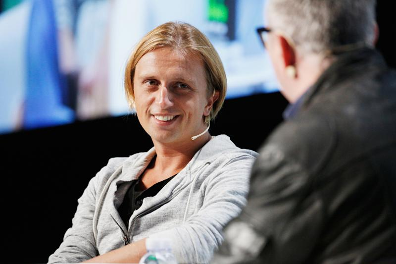 SAN FRANCISCO, CA - SEPTEMBER 06: Revolut CEO Nikolay Storonsky speaks onstage during Day 2 of TechCrunch Disrupt SF 2018 at Moscone Center on September 6, 2018 in San Francisco, California. (Photo by Kimberly White/Getty Images for TechCrunch)