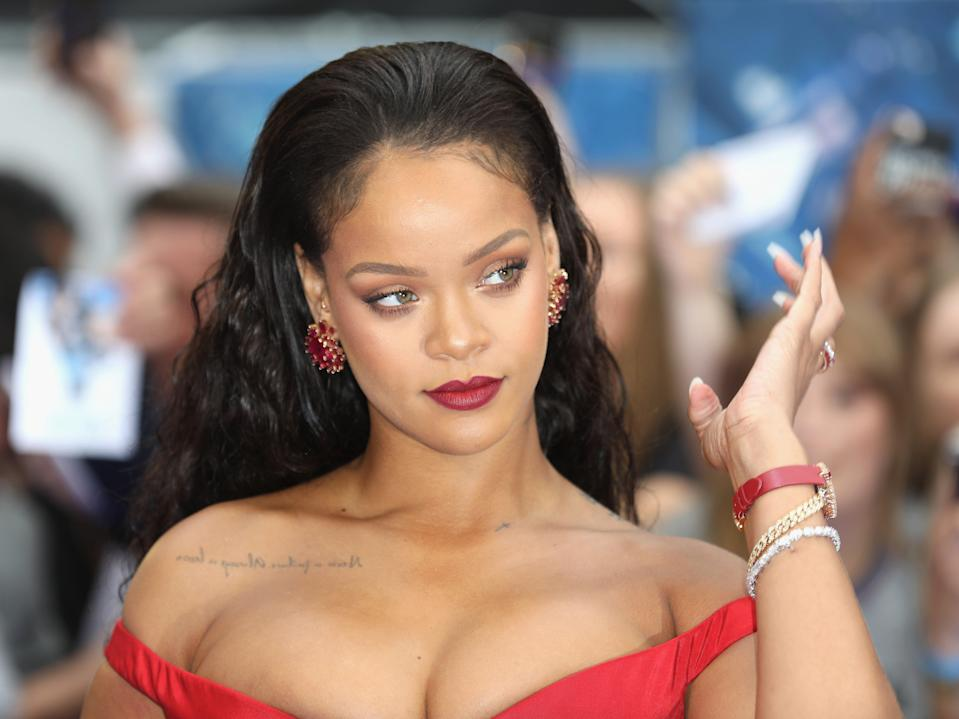 Rihanna has a number of tattoos (Getty Images)