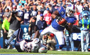 Fred Jackson's catch and run to the 1-yard line set up the winning FG