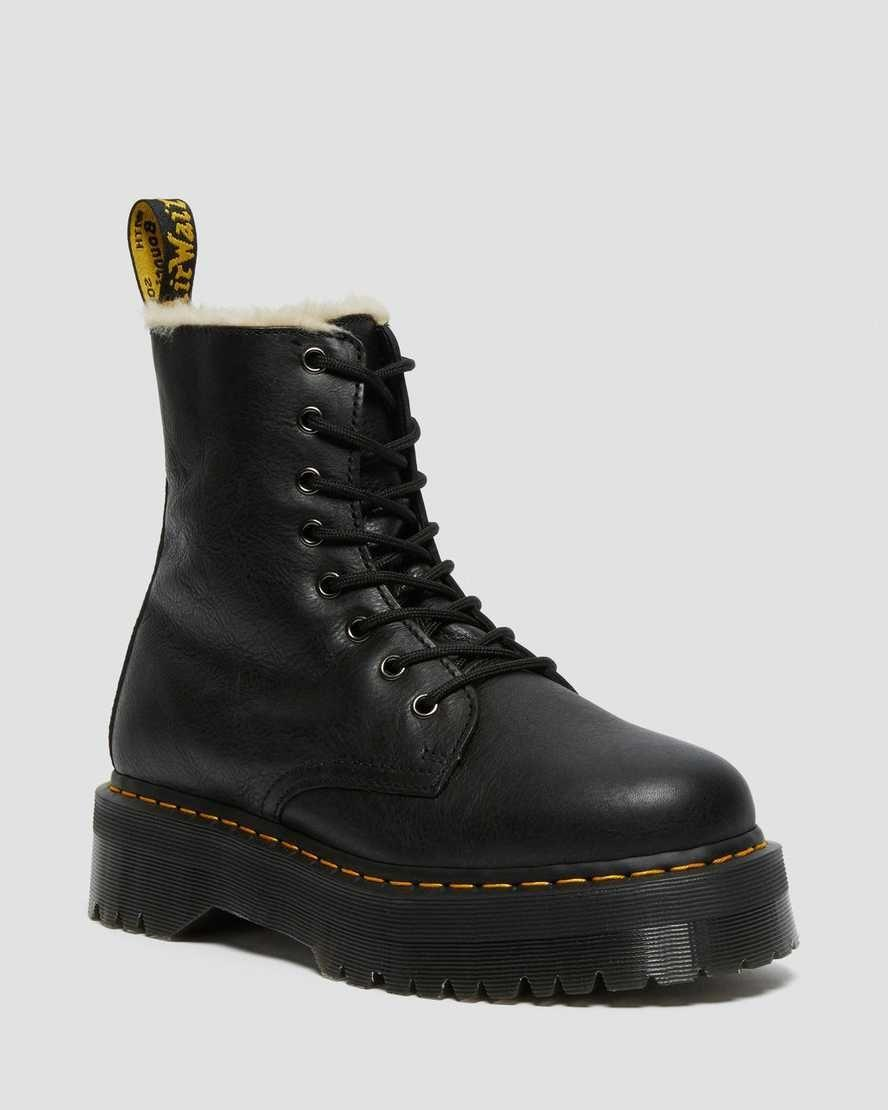 """<p><strong>Dr. Martens</strong></p><p>drmartens.com</p><p><strong>$190.00</strong></p><p><a href=""""https://go.redirectingat.com?id=74968X1596630&url=https%3A%2F%2Fwww.drmartens.com%2Fus%2Fen%2Fp%2F25637001&sref=https%3A%2F%2Fwww.cosmopolitan.com%2Fstyle-beauty%2Ffashion%2Fg29194509%2Fgifts-for-college-students%2F"""" rel=""""nofollow noopener"""" target=""""_blank"""" data-ylk=""""slk:Shop Now"""" class=""""link rapid-noclick-resp"""">Shop Now</a></p><p>If I had to choose one shoe that got me through my college days, it would hands down be my Jadon Dr. Martens. Not only does the platform give you a bit of height, but the shoe is totally versatile for both summer and winter. If your giftee goes to a school where it gets pretty chilly, especially now as the degrees are droppin', they would def appreciate these new Jadon boots with faux fur liner. </p>"""