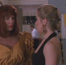 <p>Christina Applegate's feathered bangs were her most iconic beauty feature in the '90s, but we're demanding justice for this multi-hair-tie pony, because it's the real unsung hero.</p>