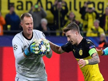 Champions League: Barcelona's Marc-André ter Stegen stakes claim to be Germany's No 1 keeper with clean sheet against Borussia Dortmund
