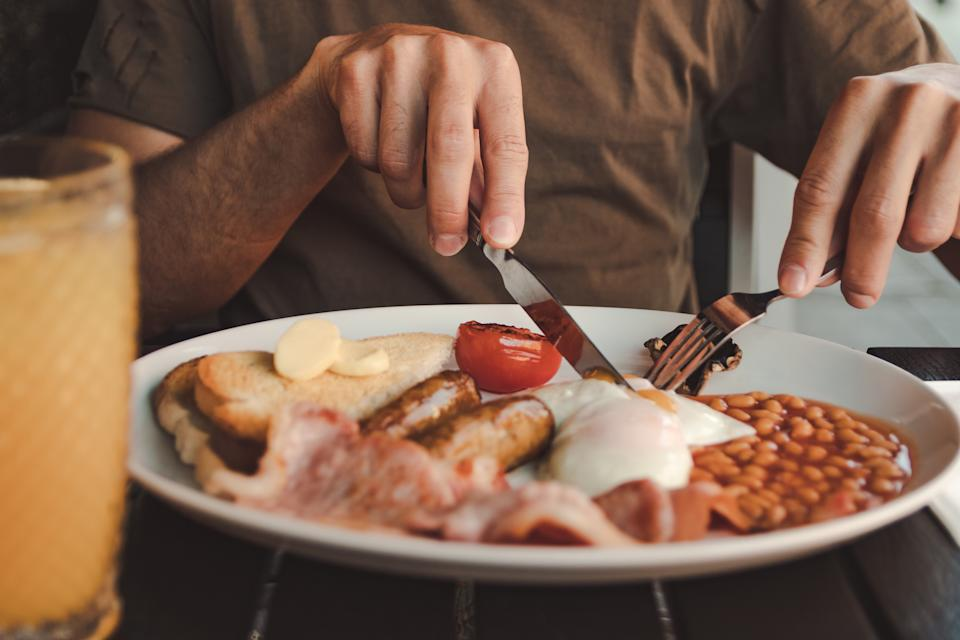 The full English breakfast could die out within a generation. [Photo: Getty]