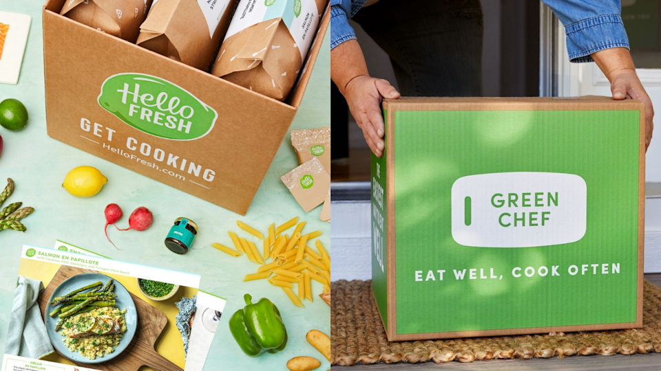 Shop sustainable meal kit delivery services to add a little environmental friendliness to your weeknight meals, including Hello Fresh and Green Chef.