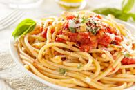 <p>One of the most common sauces to be served with bucatini is the classic Amatriciana sauce. You've heard of bucatini all'amatriciana, right?</p>