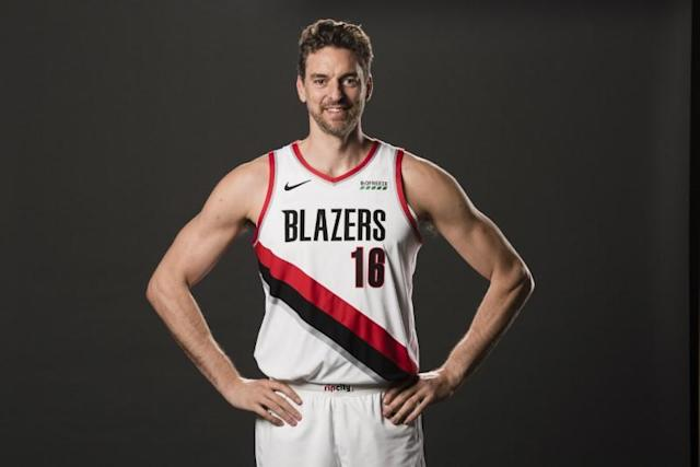 NBA: Portland Trail Blazers-Media Day