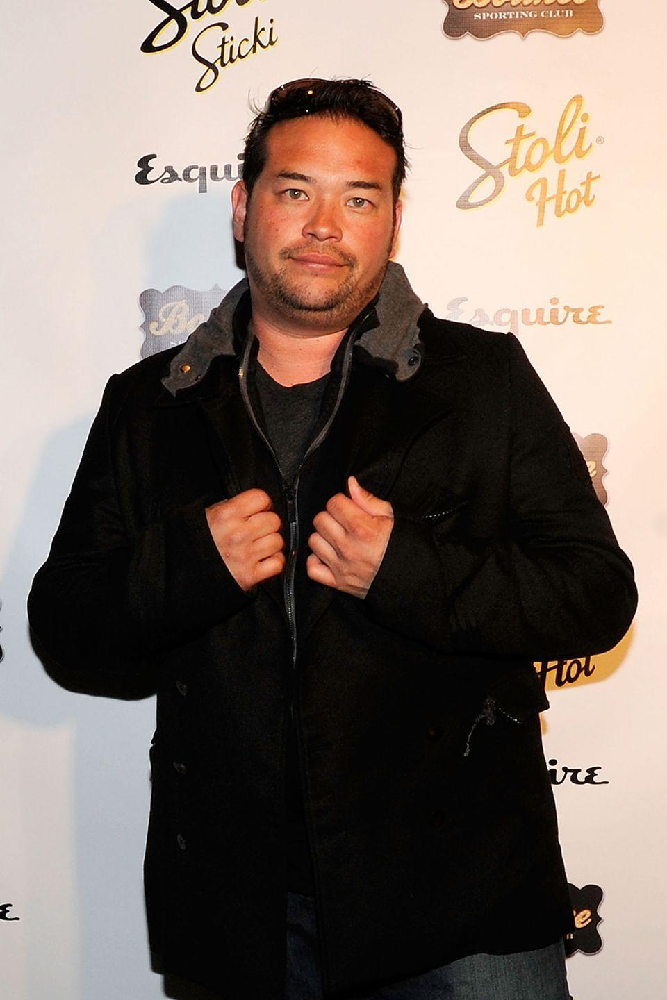 """<p>Jon Gosselin got a <a href=""""http://hollywoodlife.com/pics/photos-pics-celebrity-tattoos-misspelled-accidents-rihanna-britney-spears-david-beckham-hayden-panettiere-justin-timberlake/#!3/081210_celeb_tattoos_jon_gosselin"""" rel=""""nofollow noopener"""" target=""""_blank"""" data-ylk=""""slk:giant dragon tattoo"""" class=""""link rapid-noclick-resp"""">giant dragon tattoo</a> on his back with his girlfriend Ellen Ross' name on a scroll underneath it. However, the ink artist accidentally wrote """"Erin"""" instead of """"Ellen."""" Whoops.</p>"""