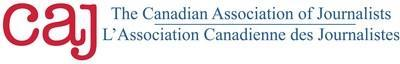 The Canadian Association of Journalists (CAJ) is a professional organization with more than 900 members across Canada. The CAJ's primary roles are public-interest advocacy work and professional development for its members. (CNW Group/Canadian Association of Journalists)