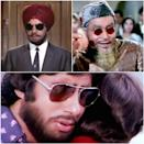 Sunglasses are also Bollywood's most convenient accessory for a quick disguise. Stills from Jeevan Mrityu (1970), Arzoo (1965) and Do Anjaane (1976)