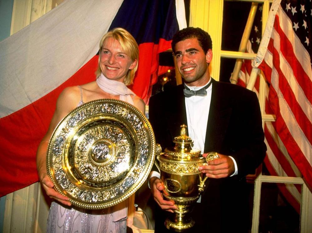 Novotna enjoyed a glittering career headlined by her Wimbledon win in 1998 (Getty)