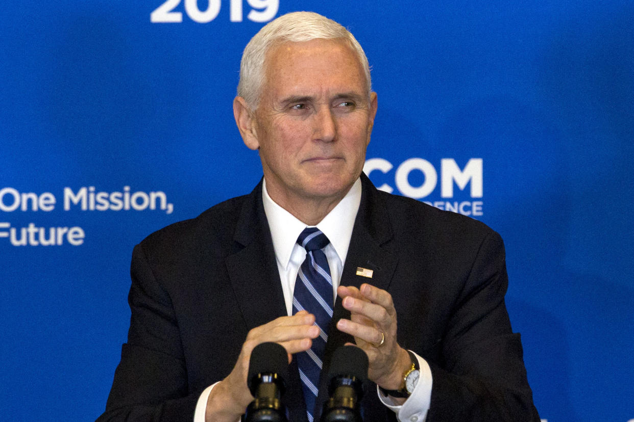 Vice President Mike Pence. (Photo: Jose Luis Magana/AP)
