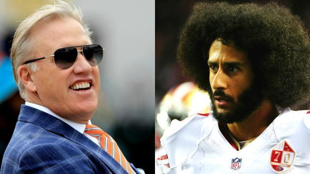 You can't make John Elway 'stick to sports,' so stop making Colin Kaepernick do it