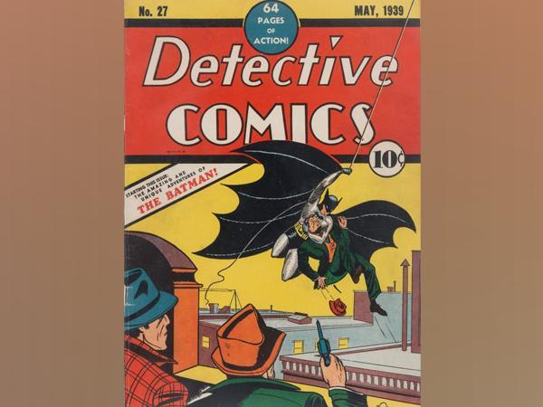 Batman's debut issue 'Detective Comics' No. 27 sells for USD 1.5 million at auction (Image courtesy: Heritage Auctions Instagram)