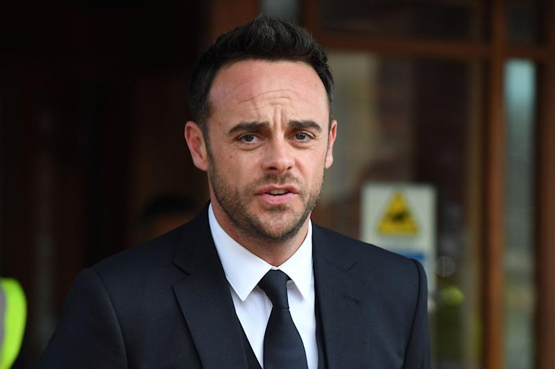 Moved: Ant McPartlin has reportedly moved into a new mansion: Chris J Ratcliffe/Getty Images