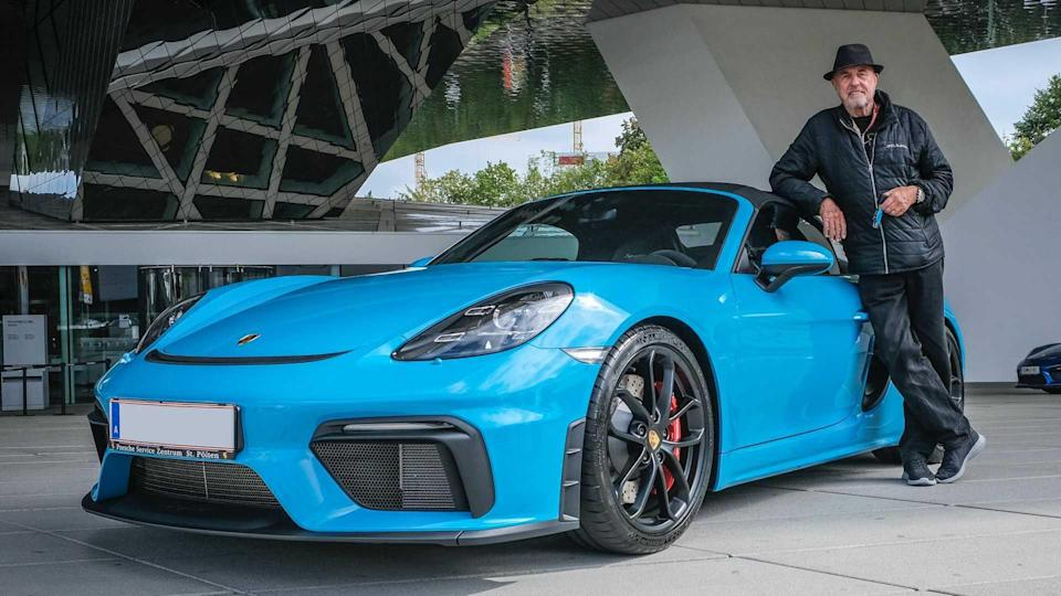 80-Year-Old Buys 80th Porsche
