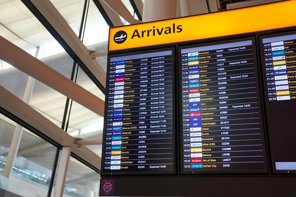 Travelogix found that in the second week of August there were There were 314,477 fewer international and domestic business trips than in the same week in 2019  (PA)