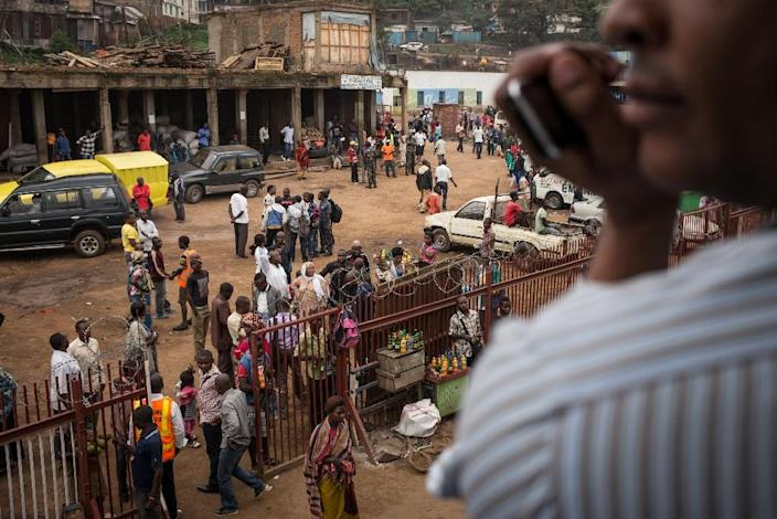 In a recent report on the African economy, future growth could be spurred by the continent's population doubling to two billion over the next 35 years (AFP Photo/Federico Scoppa)