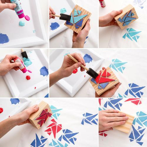 How To Make Fabric Paint Not Sticky