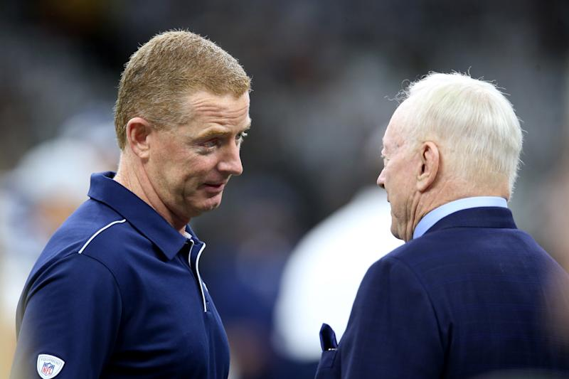 While Jason Garrett's job appears to be safe for now, the Cowboys schedule isn't doing him any favors. (Reuters)
