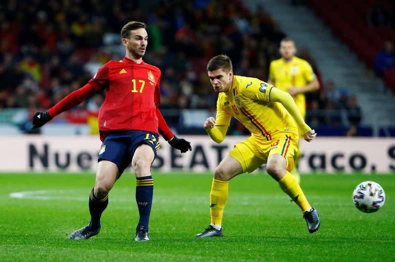 Spain's Fabian barred from joining squad due to Napoli quarantine