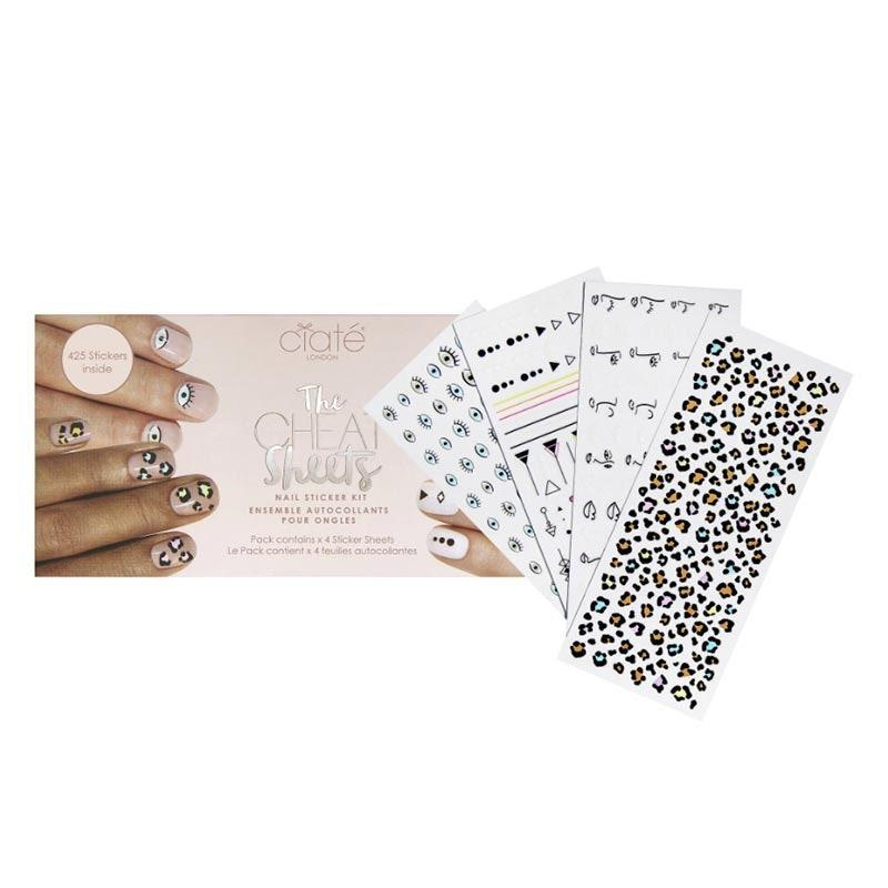"""The answer to their """"I can't paint with my left hand"""" woes. $18, Sephora. <a href=""""https://www.sephora.com/product/ciate-the-cheat-sheets-nail-stickers-P459148"""" rel=""""nofollow noopener"""" target=""""_blank"""" data-ylk=""""slk:Get it now!"""" class=""""link rapid-noclick-resp"""">Get it now!</a>"""