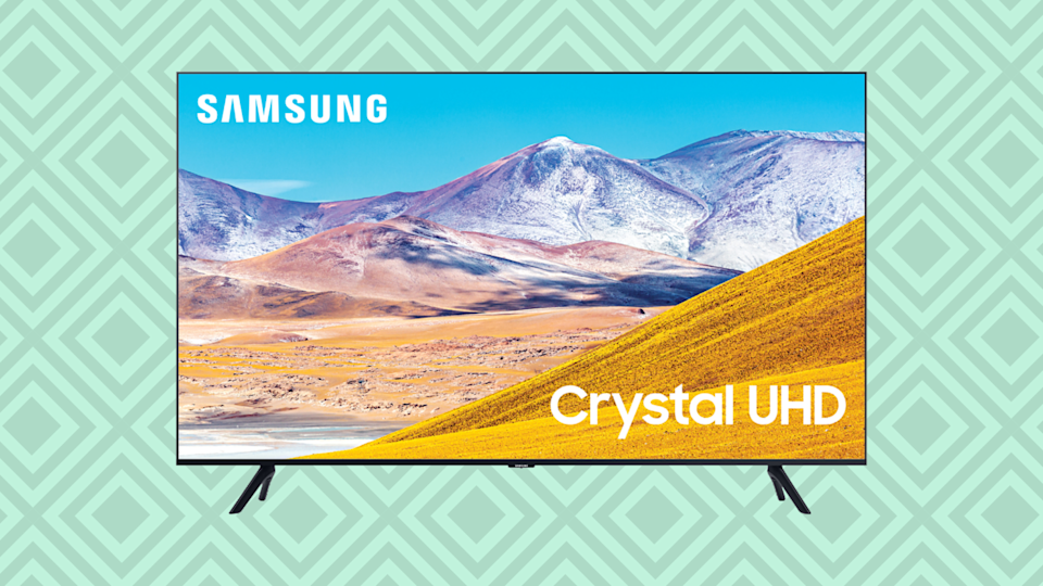 Save $322 on this Samsung 43-inch Class 4K Crystal Ultra HD LED Smart TV. (Photo: Walmart)