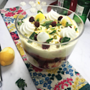 """<p>Simple and speedy to make, gin adds a fresh flavour to this light and fruity trifle that is bound to become a summer pudding staple.</p><p><strong>Recipe: <a href=""""https://www.goodhousekeeping.com/uk/food/recipes/a576354/gin-trifle/"""" rel=""""nofollow noopener"""" target=""""_blank"""" data-ylk=""""slk:Gin trifle"""" class=""""link rapid-noclick-resp"""">Gin trifle</a></strong></p>"""