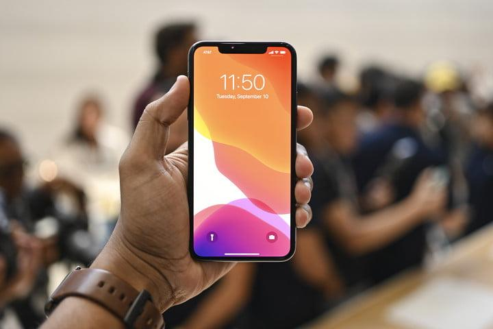 iphone 11 pro max review apple hands on jc front of phone