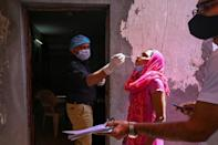 India is battling a new surge, expanding its vaccination programme on Thursday to the 45-60 age group