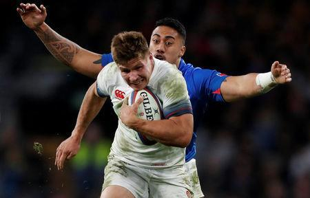 REFILE - CORRECTING CAPTION Rugby Union - Autumn Internationals - England vs Samoa - Twickenham Stadium, London, Britain - November 25, 2017 England's Piers Francis in action Action Images via Reuters/Paul Childs