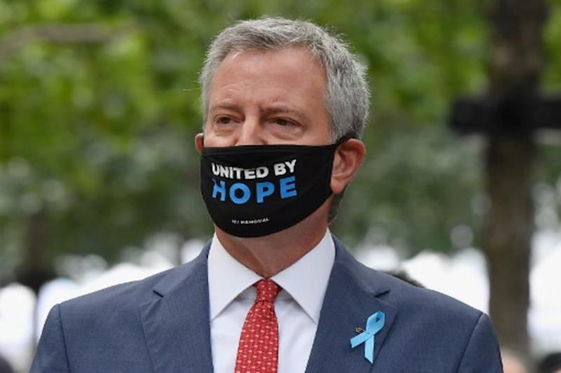 New York Mayor Furloughs Himself and Staff for a Week to Ease Budget Gap Caused by Pandemic