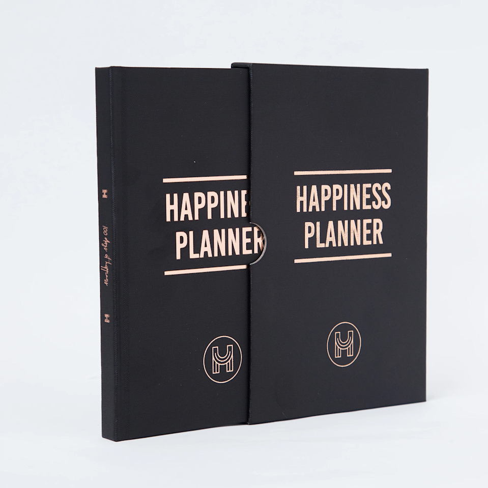 """<h3><a href=""""https://thehappinessplanner.com/collections/100-day-edition/products/the-100-day-happiness-planner-black-gold"""" rel=""""nofollow noopener"""" target=""""_blank"""" data-ylk=""""slk:The 100-Day Happiness Planner"""" class=""""link rapid-noclick-resp"""">The 100-Day Happiness Planner</a> </h3><br>Looking to organize your life down to the very day? This is the planner for you. The daily layout includes dedicated boxes for tracking meals, exercises, to-dos, and nightly reflection. Our favorite part? Every day has a motivational quote from our favorite muses, like Shonda Rhimes and Maya Angelou. Pre-order now and get your 2020 version ahead of the new year.<br><br><strong>The Happiness Planner</strong> The 100-Day Planner, $, available at <a href=""""https://go.skimresources.com/?id=30283X879131&url=https%3A%2F%2Fthehappinessplanner.com%2Fcollections%2F100-day-edition%2Fproducts%2Fthe-100-day-happiness-planner-black-gold"""" rel=""""nofollow noopener"""" target=""""_blank"""" data-ylk=""""slk:The Happiness Planner"""" class=""""link rapid-noclick-resp"""">The Happiness Planner</a>"""