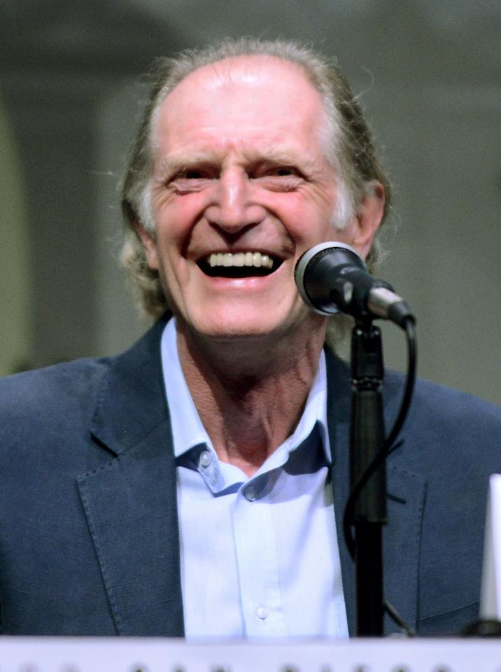 "David Bradley speaks onstage at BBC America's ""Doctor Who"" 50th Anniversary panel during Comic-Con International 2013 at San Diego Convention Center on July 21, 2013 in San Diego, California."